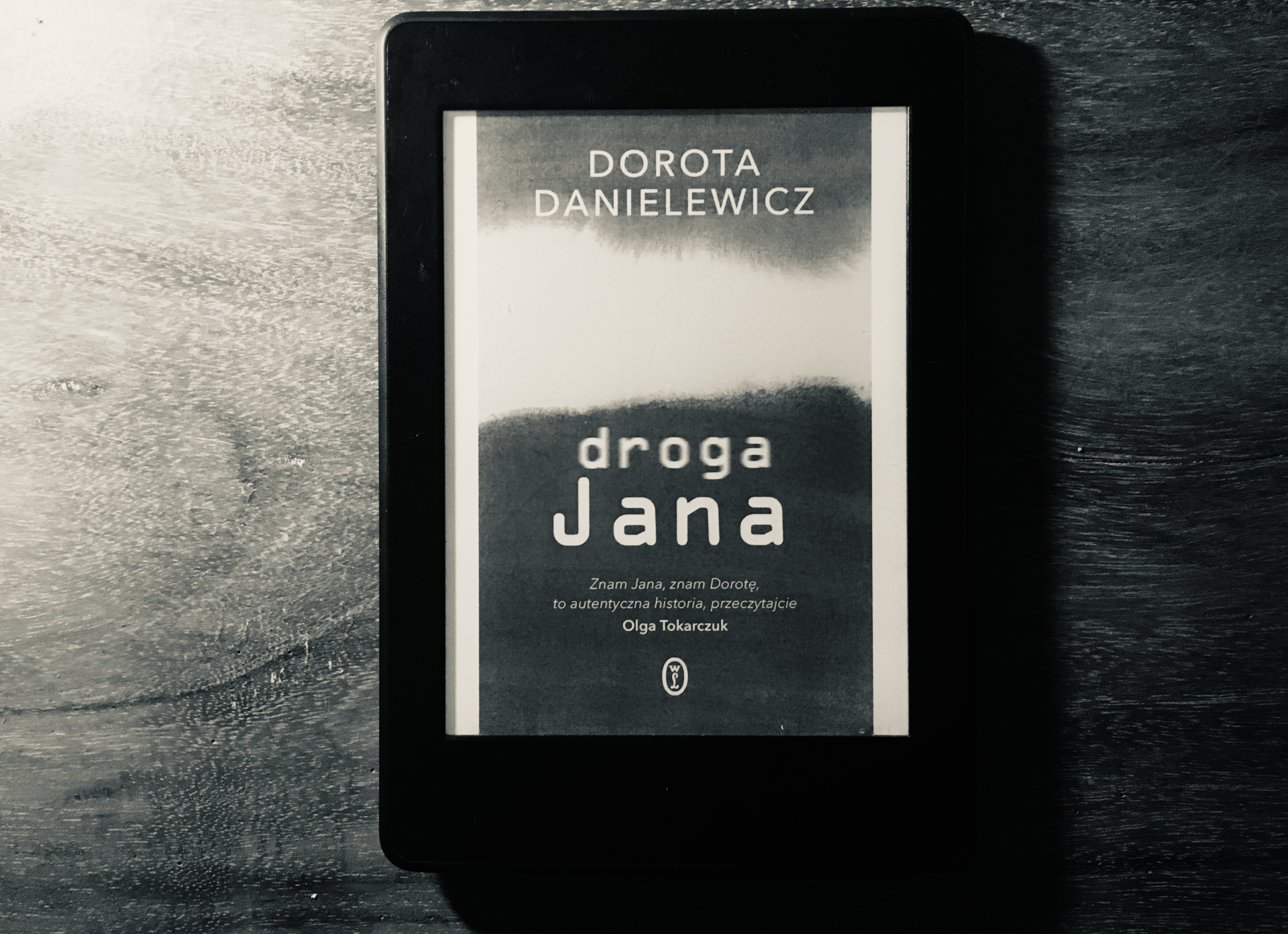 Droga Jana, Dorota Danielewicz okładka e-book kindle